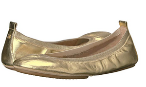 Samara Flat - Metallic Gold