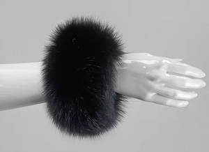 Fox Fur Slap On Cuffs