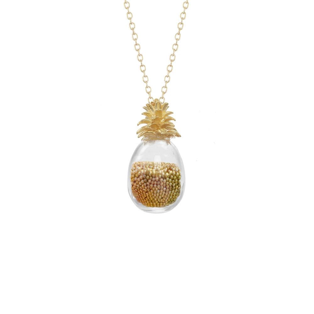 Pineapple Shaker Necklace