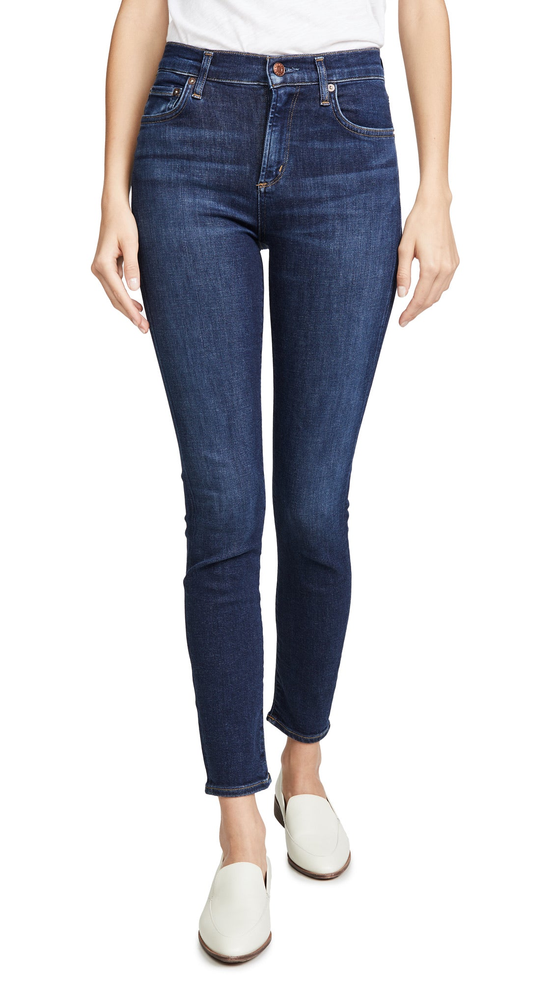 Sophie Mid Rise Ankle Skinny - Prelude