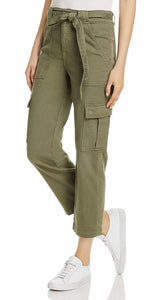 Cropped Cargo Jeans - Fatigue