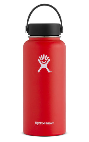 Hydro Flask 32 OZ WIDE MOUTH LAVA