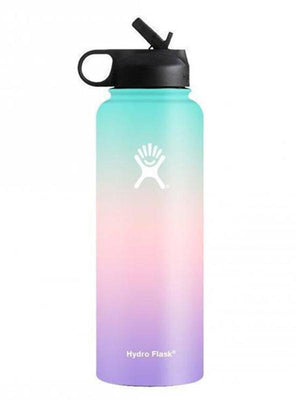Hydro Flask 32 oz Ombre Wide Mouth W/ Straw Lid Water Bottle