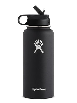 Hydro Flask 32 oz Wide Mouth W Straw Lid Water Bottle