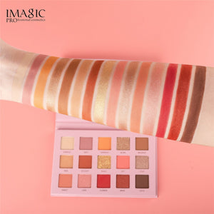 15 Color Shimmer Matte Eye Shadow Palette Fashion Waterproof Eye Shadow Powder Matte Eye Shadow Palette Cosmetic