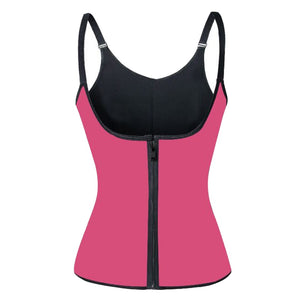 S-3XL Slimming Shapewear Waist Trainer Vest Adjustable Shoulder Strap Corset Women Corrective Body Shaper Waist Cincher Tummy Control