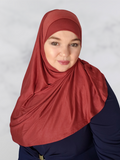 Cayenne pepper red Instant Jersey shawl