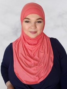 Raspberry pink jersey enisa hijab