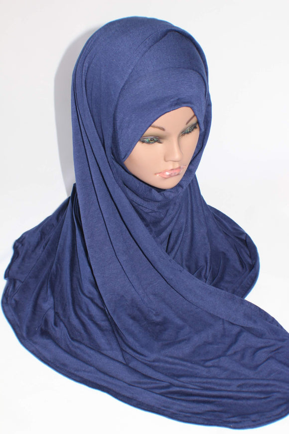 Midnight Blue Instant Shawl