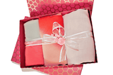 Raspberry blush pink hijab gift Eid gift set box