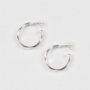Dream Hoops - Sterling Silver