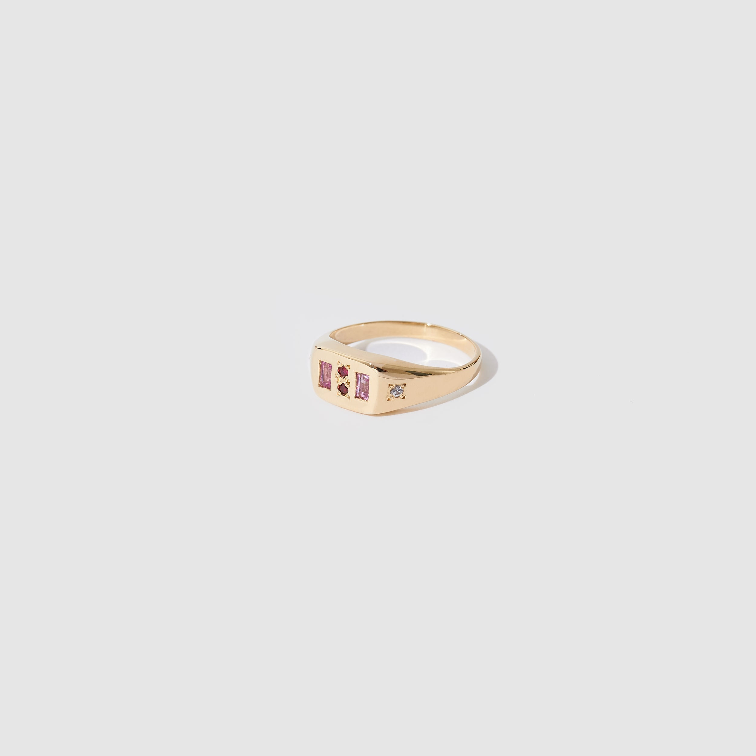 Eternity Ring - Pink and Red