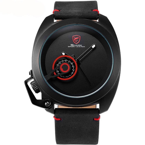SHARK SPORT WATCH SH446 Tawny Shark Red Design Male Wrist Watches