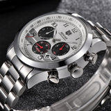 BENYAR BY-5107MSW Chronograph Quartz Men's Watches