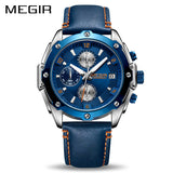 MEGIR 2074 Chronograph Men Watch
