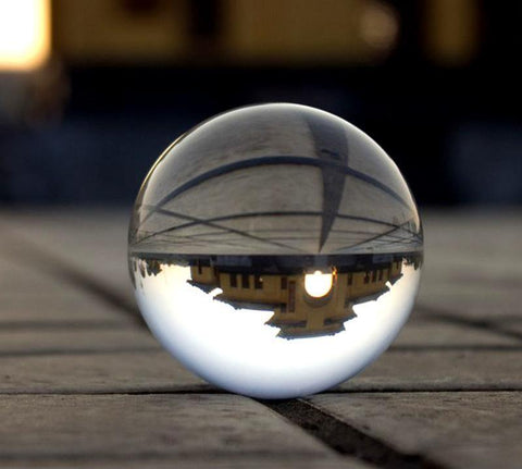 Crystal Sphere Photography