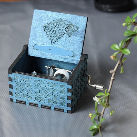Game Of Thrones Wolf Emblem Theme Box