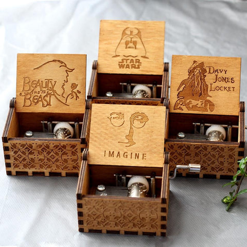 "John Lennon ""Imagine"" Wooden Theme Box"