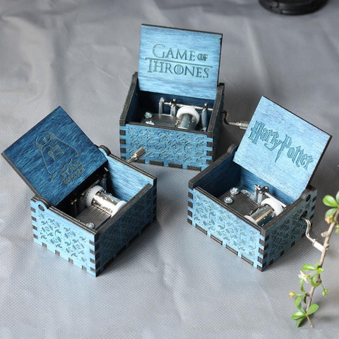 """Castle In The Sky"" Wooden Theme Box"