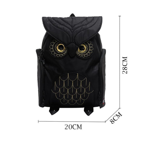 Unique Owl Backpack