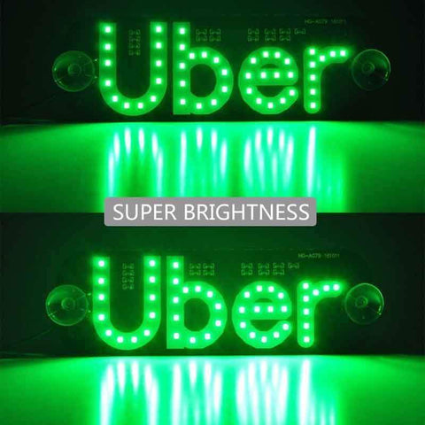 Uber LED Sign -3 Colors