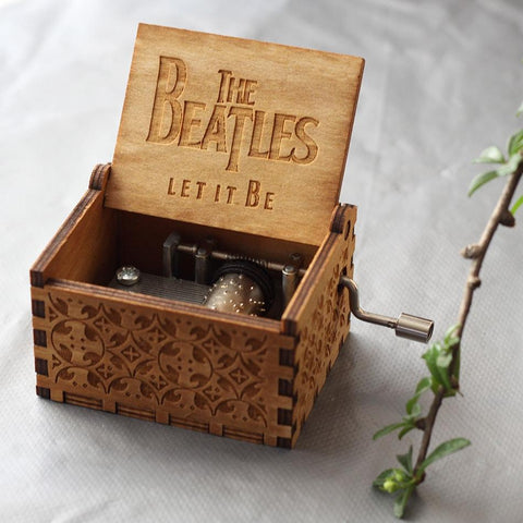 "The Beatles ""Let It Be"" Wooden Theme Box"