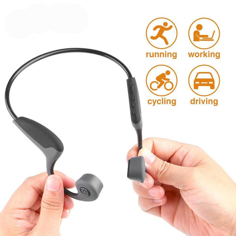 Wireless  Bone Conduction  Outdoor Headset with Microphone