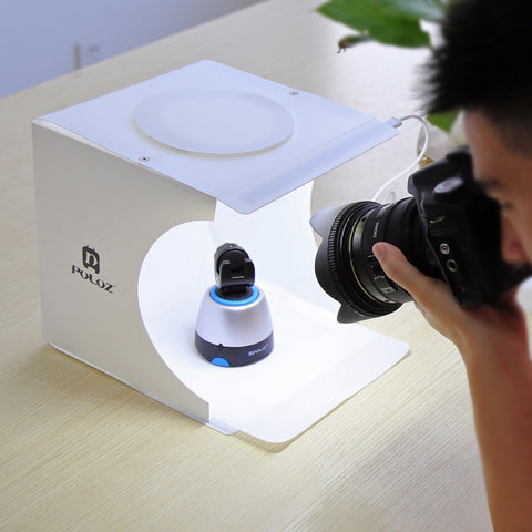 Portable Photo Studio LED Strip Light Box