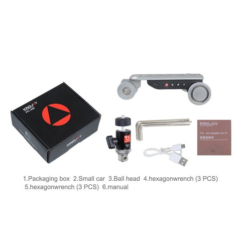 Electric Motorized Dolly Car Rail System For Video and Photography