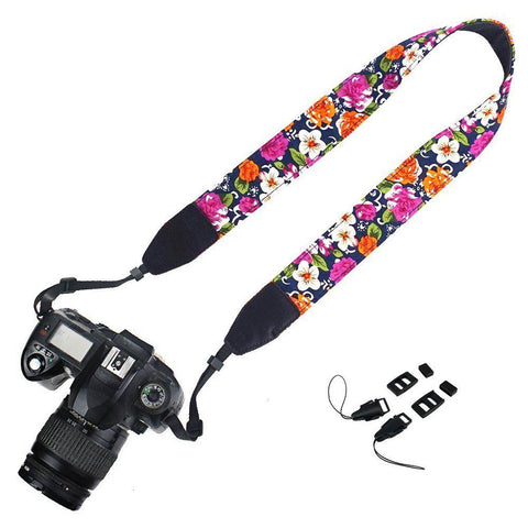 Colorful Camera Straps