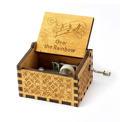 """Over The Rainbow"" Wooden Theme Box"