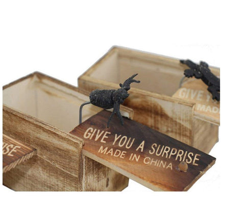 Scary Surprise Prank Insect  Box Toy