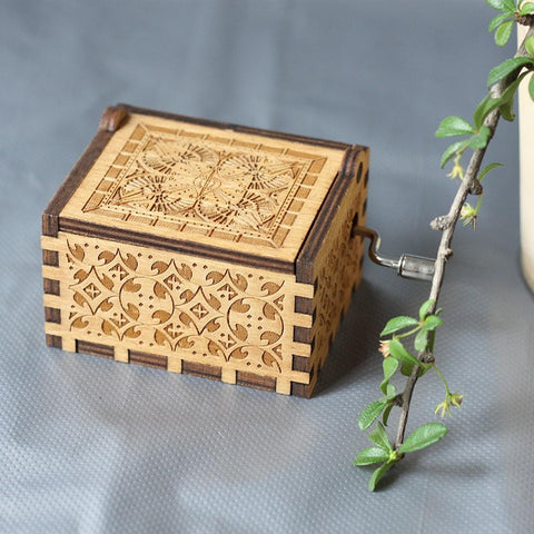 """Happy Birthday"" Wooden Theme Box"