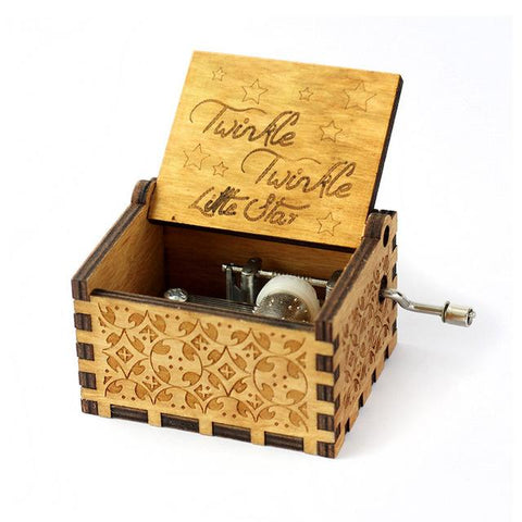 """Twinkle Twinkle Little Star"" Wooden Theme Box"