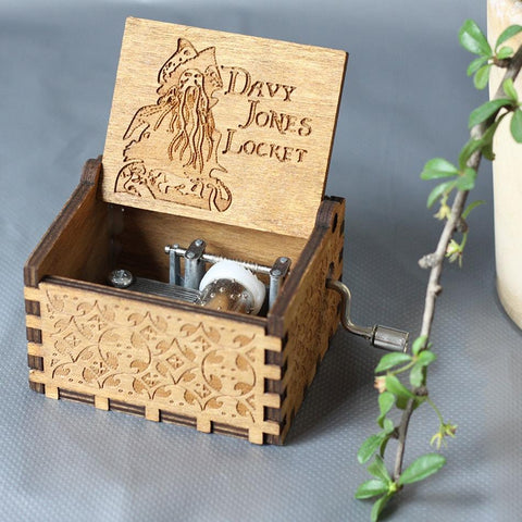 Davy Jones Locket Theme Box