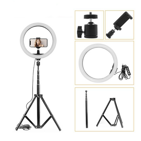 160 LED Dimmable Photography Ring Light