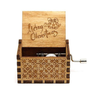 """Merry Christmas"" Wooden Theme Box"