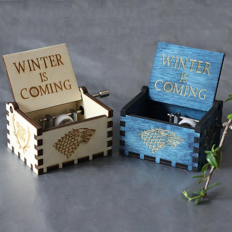 Game Of Thrones Winter Is Coming Theme Box