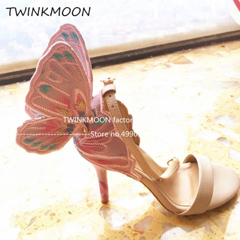 Butterfly Stiletto Shoes
