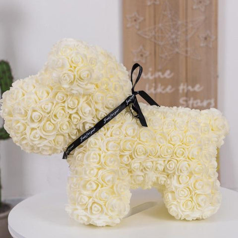 Image of Valentine's Ribbon Rose Dog 42 cm