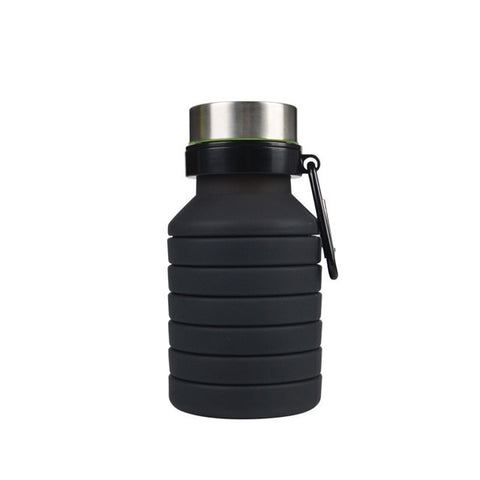 500ml Silicone Collapsible Water Bottle