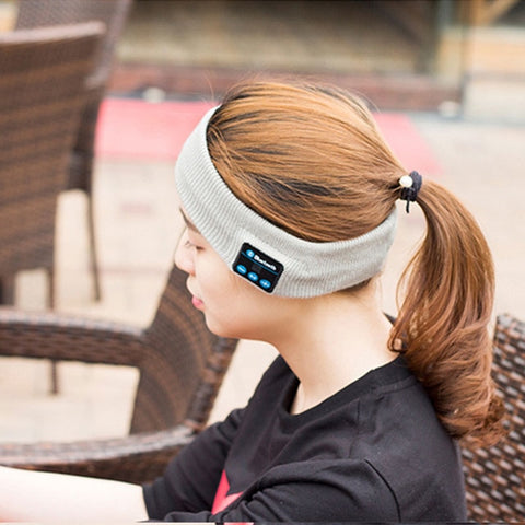 Wireless Music Knitted Headband