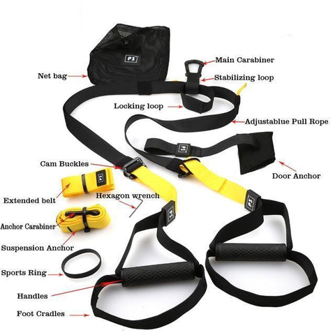 P3 Pro Full Workout TRX Bundle Set