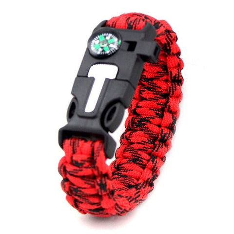 Multifunction Paracord Survival Bracelet