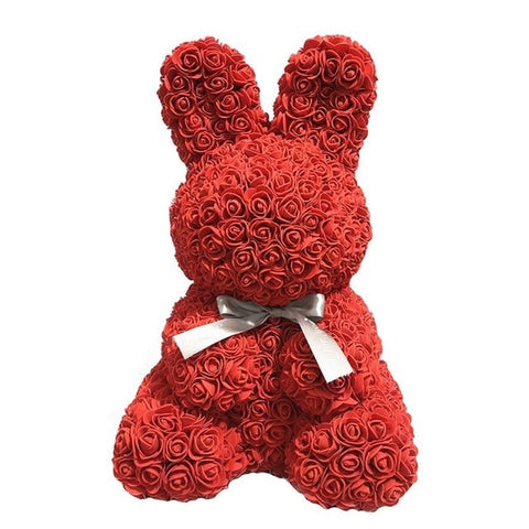 Image of 2019 Rose Easter Bunny Gift 45 cm
