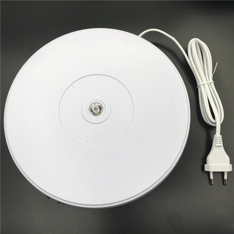 Electric Rotating LED Light  Photography Turntable