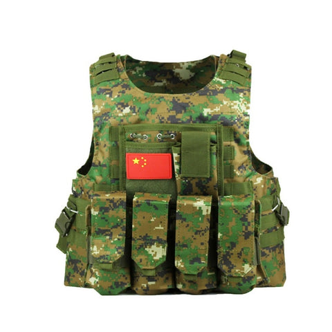Airsoft Tactical MOLLE Vest
