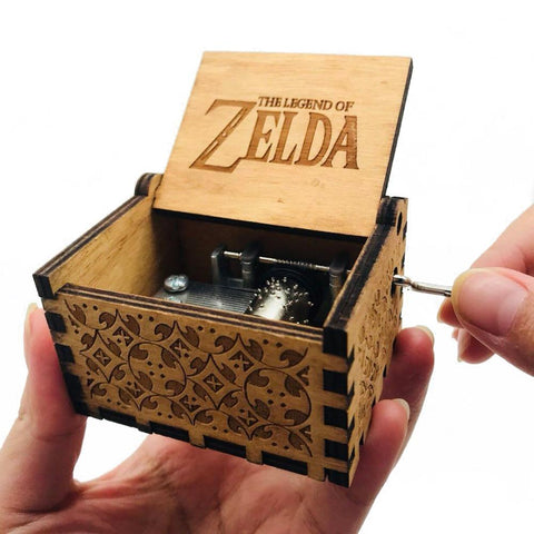 The Legend Of Zelda Theme Box