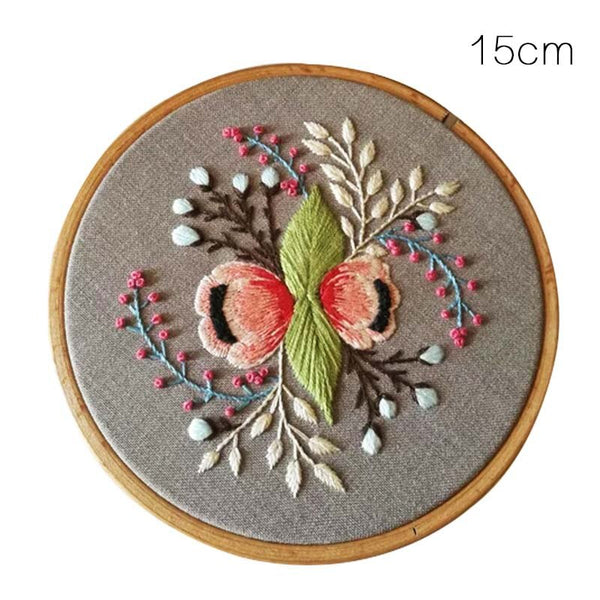 Embroidery Materials Package DIY Handmade Embroidered Needlework Set Cross Stitch