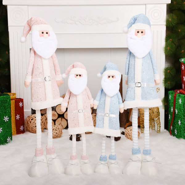 Table Display Window Decoracion Santa Claus Figures Christmas Doll Christmas Decoration for Tree Festival Adornment Natal Decor